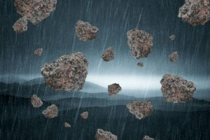stone-rain