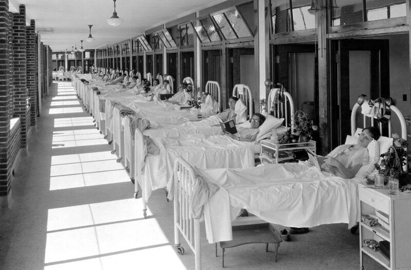 tuberculosis ward - Waverlyhills Sanatoryumu