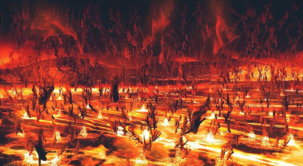 lake of fire 1024x563 - Yeraltından Gelen Cehennem Sesleri ve Kola Derin Sondajı Gerçeği