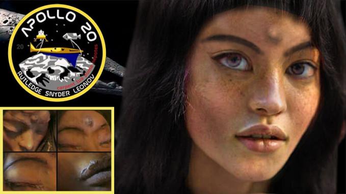 Mona lisa apollo 20 - Ay'ın Karanlık Yüzü ve Gizemleri
