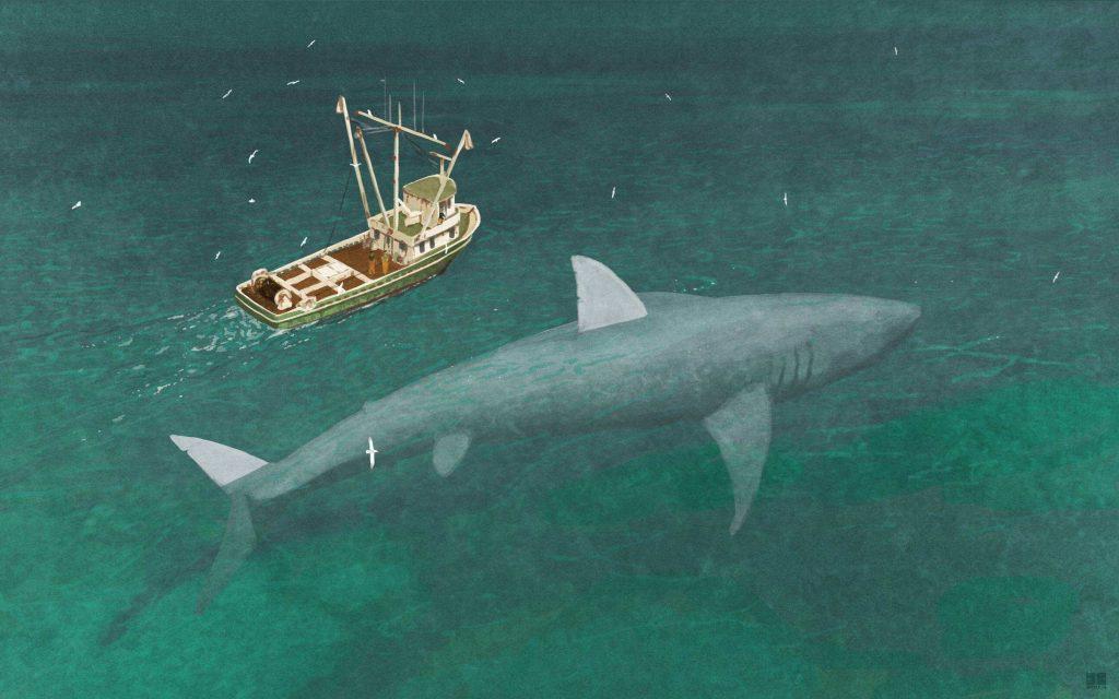 megalodon 1024x640 - Megalodon Dev Köpekbalığı Canlanıyor mu? (Teoriler ve Belgeler)