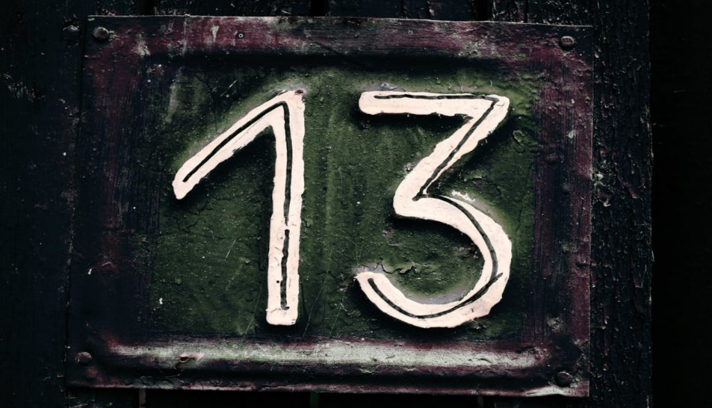 unlucky 10.1265x725 1024x587 - 13 Sayısı ve 13.Cuma Hakkında Gizemli 13 Bilgi