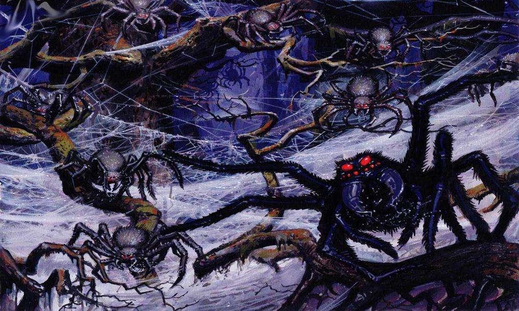Untitled 10 1024x614 - Kongo'nun 1,5 Metrelik Dev Örümcekleri