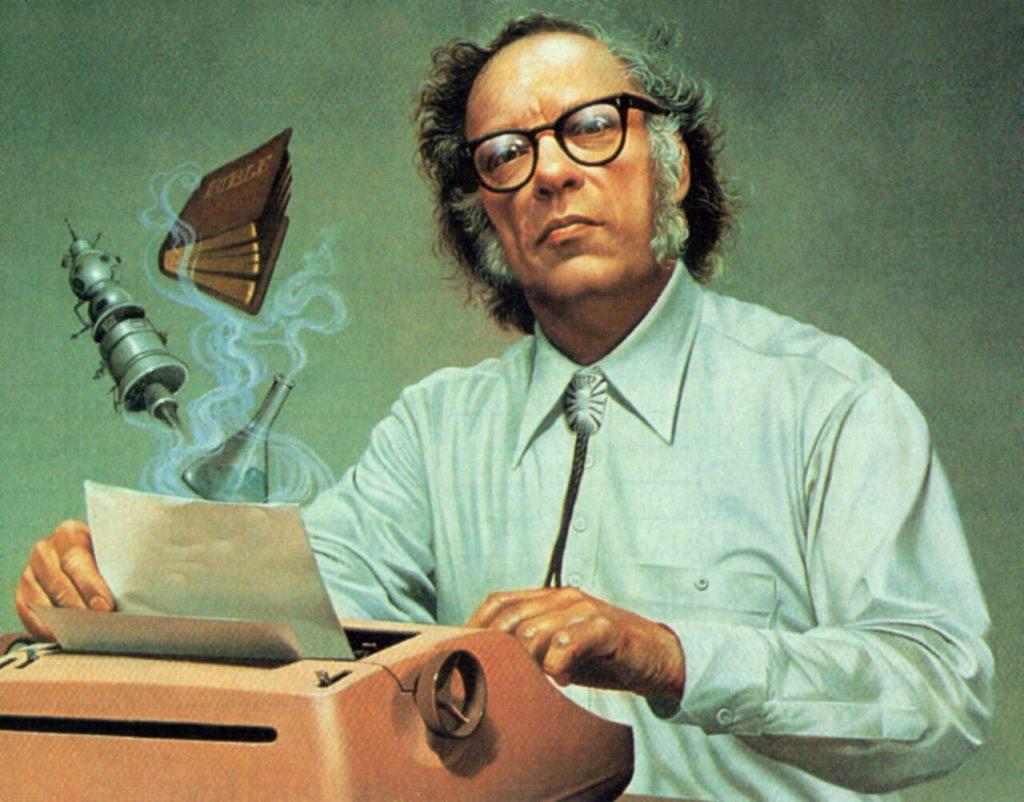 Isaac Asimov 2 1024x802 - Robotların Yükselişi – İnsan ve Robot Savaşları Başlıyor