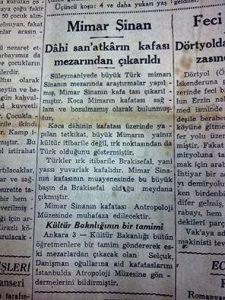 1380277 529048670514828 687580189 n 225x300 - Mimar Sinan'ın Kayıp Kafatası Nerede. Kayıp mı, Yoksa Bir Tarikatın Elinde Mi ?