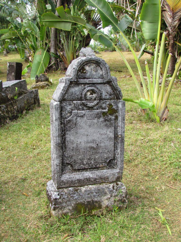 0618 Ile Sainte Marie Pirate cemetery 768x1024 - Karayip Korsanlarının Gerçek Mezarlığı