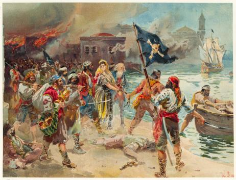 pirates 462x353 - Karayip Korsanlarının Gerçek Mezarlığı