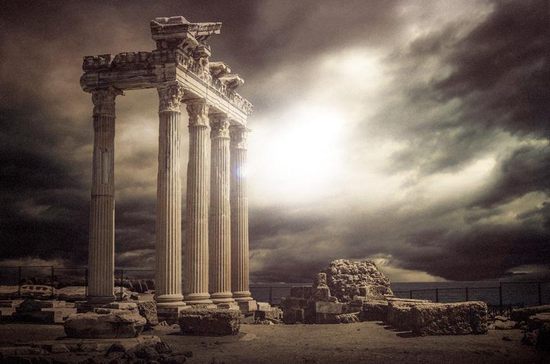 Ancient Ruins city - Ay ve Mars Yüzeyinde Bulunan Dev Kulelerin  Gizemleri