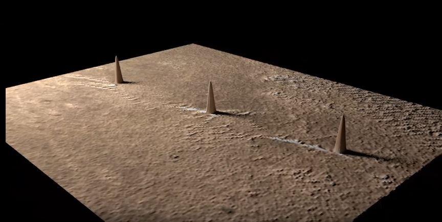 Towers on Mars - Ay ve Mars Yüzeyinde Bulunan Dev Kulelerin  Gizemleri
