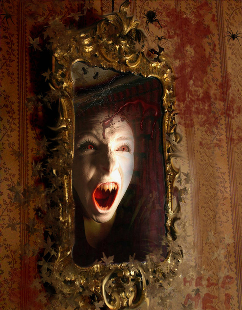 bloody mary worth by tonycampagna d1blua4 - Aynalar Cinler ve Ruhlar İçin Geçit Kapısı mı?