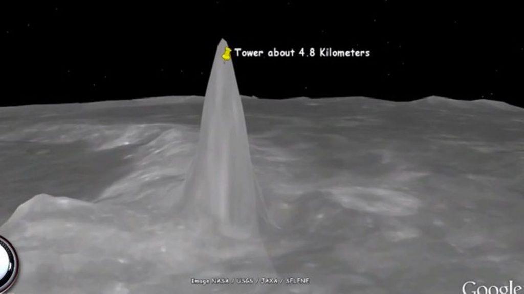 kule 2 1024x576 - Ay ve Mars Yüzeyinde Bulunan Dev Kulelerin  Gizemleri