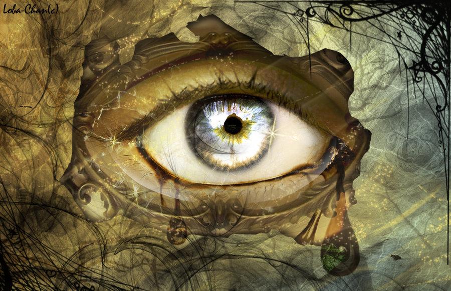 mirror of a broken soul by loba chan - Aynalar Cinler ve Ruhlar İçin Geçit Kapısı mı?
