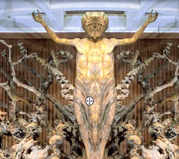 Adsız4 - Vatikanın Karanlık Sırları Ve Papa'nın Seyirci Salonundaki Gizli Reptilian Sembolleri