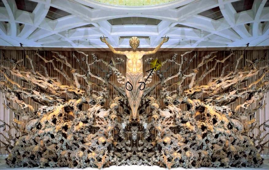 Adsız5 - Vatikanın Karanlık Sırları Ve Papa'nın Seyirci Salonundaki Gizli Reptilian Sembolleri