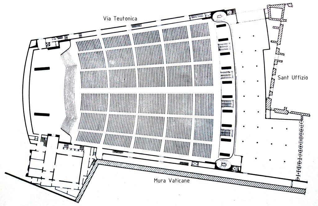pianta 1024x663 - Vatikanın Karanlık Sırları Ve Papa'nın Seyirci Salonundaki Gizli Reptilian Sembolleri
