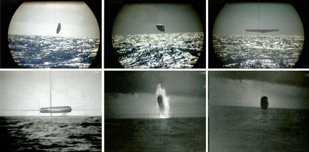 00876 - Atlantik Okyanusun'da Denizaltının Kaydettiği Gerçek Ufo Görüntüleri