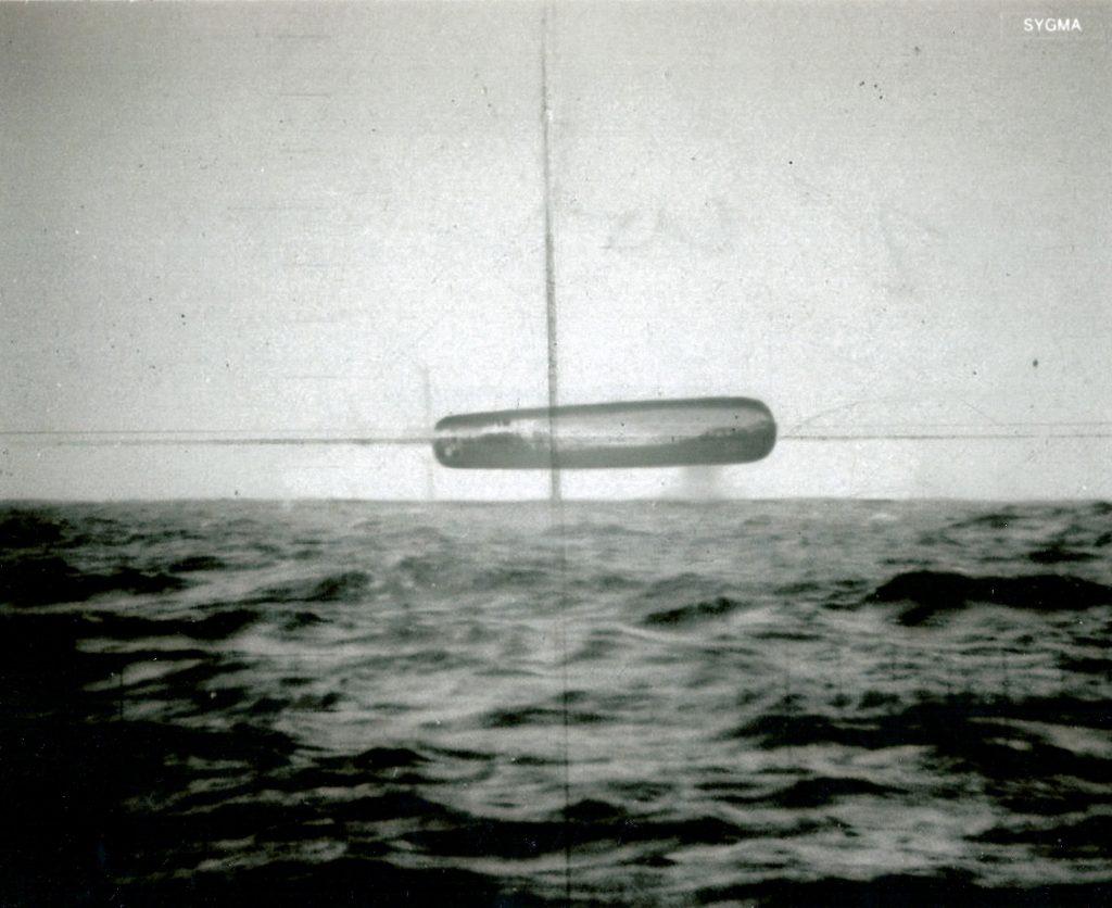 Original scan photos of submarine USS trepang 1 1024x836 - Atlantik Okyanusun'da Denizaltının Kaydettiği Gerçek Ufo Görüntüleri