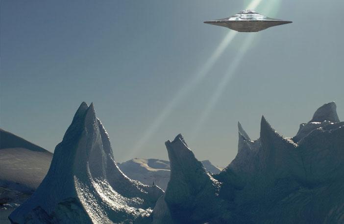 ufo antarctica - Atlantik Okyanusun'da Denizaltının Kaydettiği Gerçek Ufo Görüntüleri
