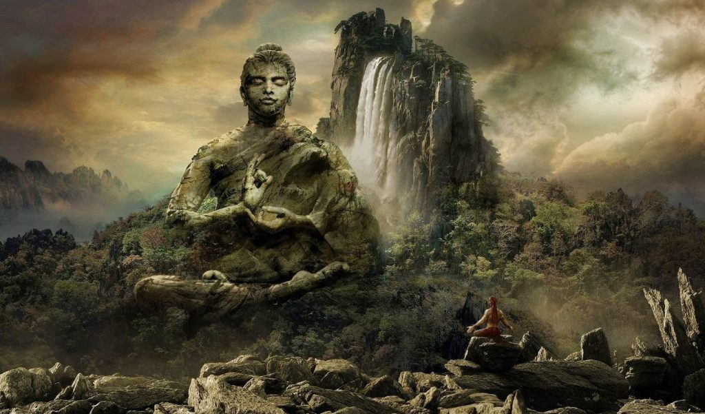Buddha Darshan Hd Wallpaper 1024x601 - Atlantis  Devleri