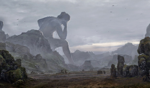 resting giant by merl1ncz d424veo - Atlantis  Devleri