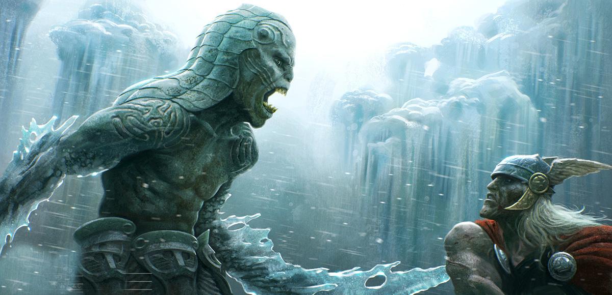 thor   frost giant concept 3 by michaelkutsche d3l77yo - Atlantis  Devleri