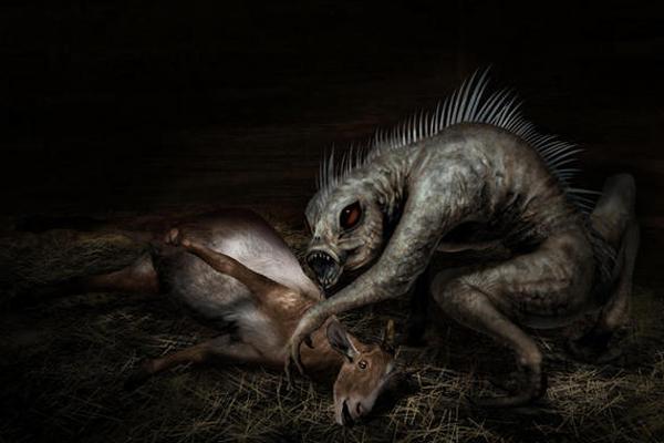 imagen chupacabras - Arjantin de Yakalanan Yaratık Kurtadam mı?