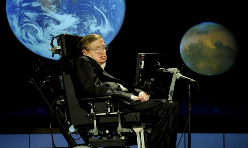Stephen Hawking 22 1030x615 1024x611 - Stephan Hawking Dünya Dışı Varlıklarla İletişime Geçmeye Hazırmıyız?