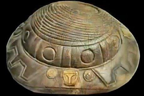 mexstatues 1 - Nazca Çizgileri Mağarasında Bulunan Uzaylı Mumyası