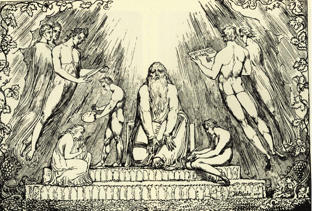 Enoch Lithograph 1024x791 - Meleklerin Büyü Kitabı  Razielin Gizli Öğretileri