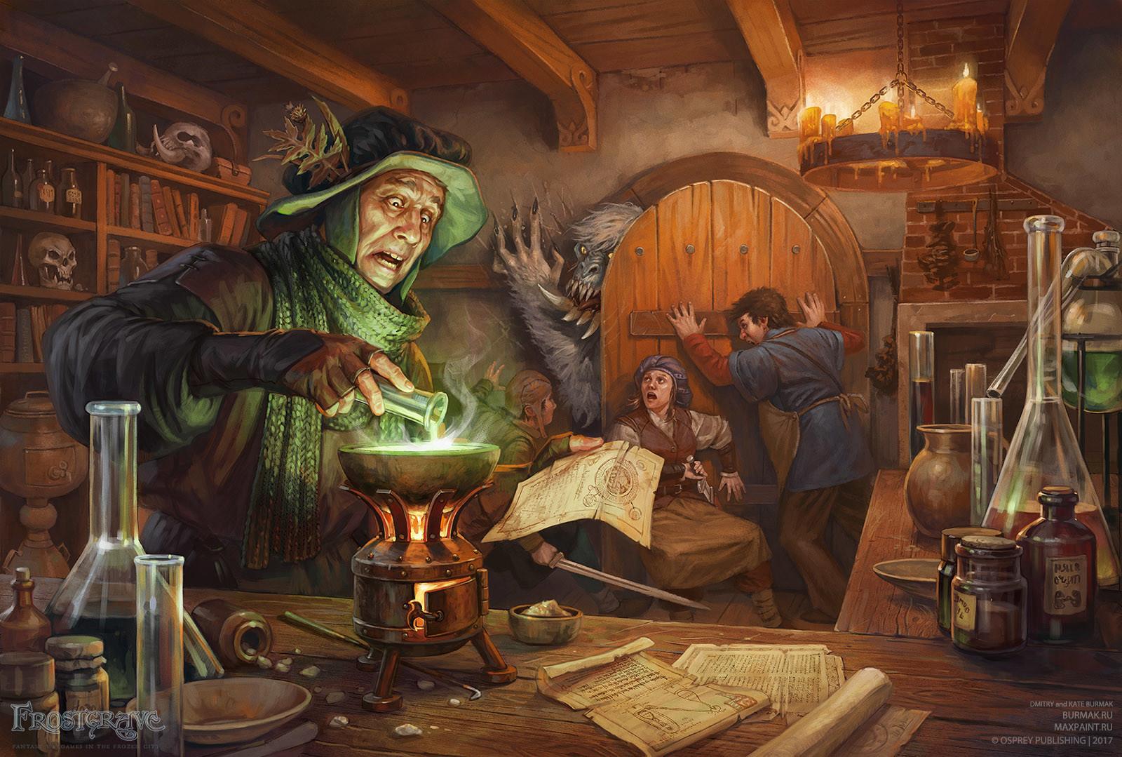 dmitry burmak fg folio alchemist - Felsefe Taşı Nedir?