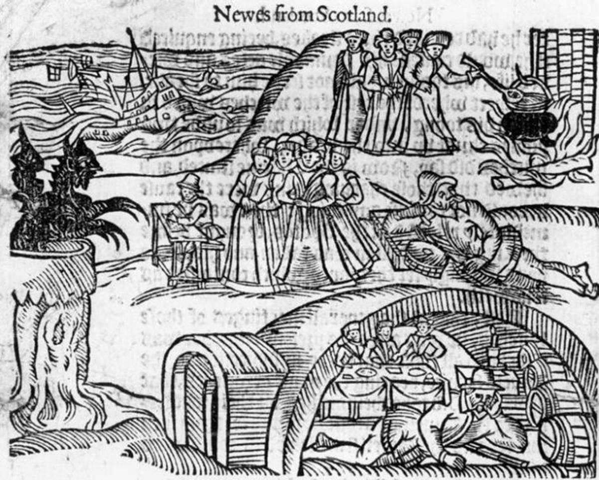 north berwick witchesjpg - Nostradamus'u Gölgede Bırakan Kahin: Shipton ANA