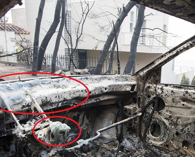 4E877EDA00000578 5984481 Dozens of cars and houses have been destroyed by the wildfire at a 34 1532453732252 - Yunanistan'daki Yangın Lazer Silahı İle Mi Çıkartıldı?