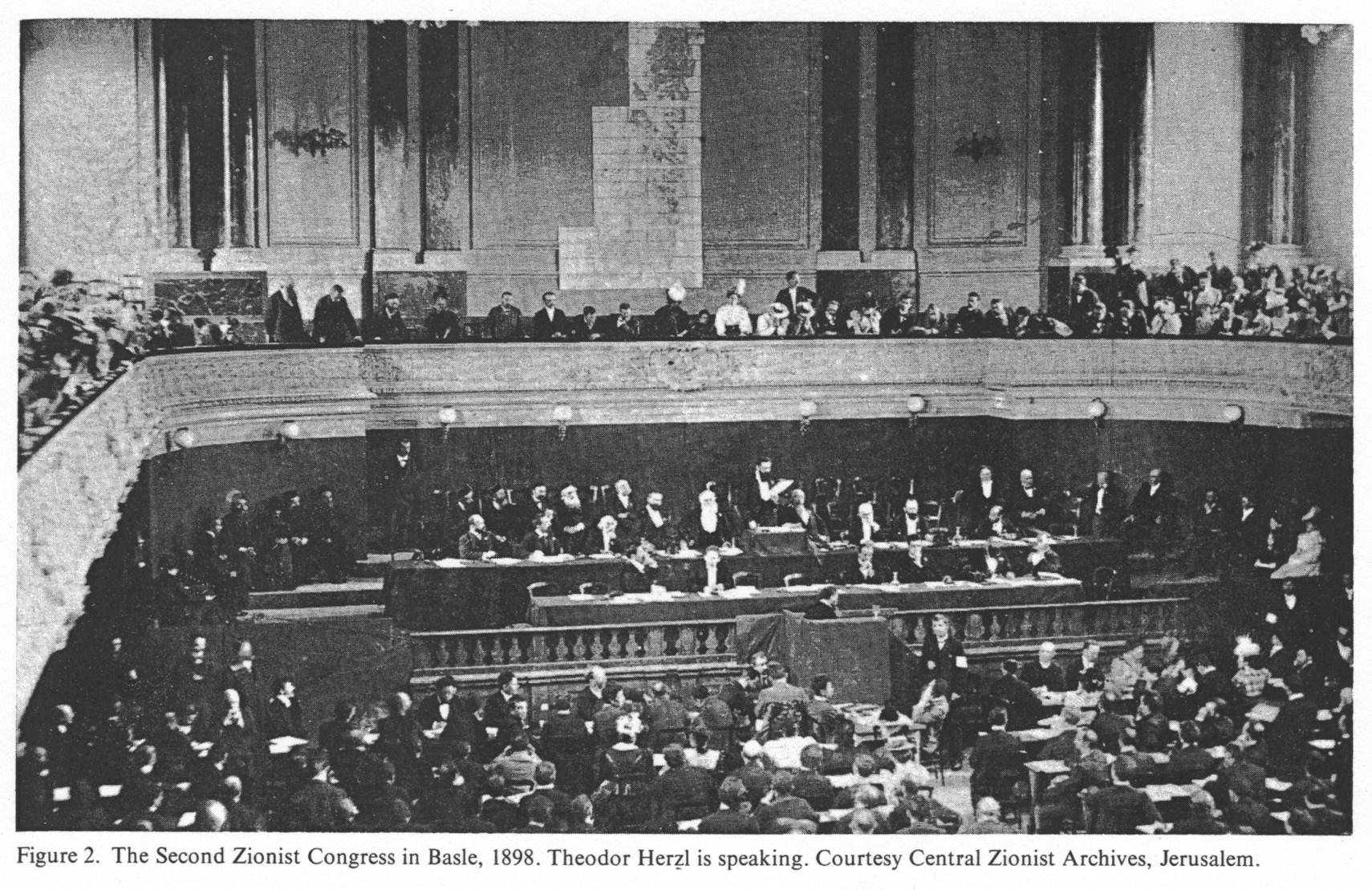 EncJud zionist congresses bd16 kol 1169 1170 rede rassist Herzl Basel 1898 - 3.Dünya Savaşı Ne Zaman Başlayacak?