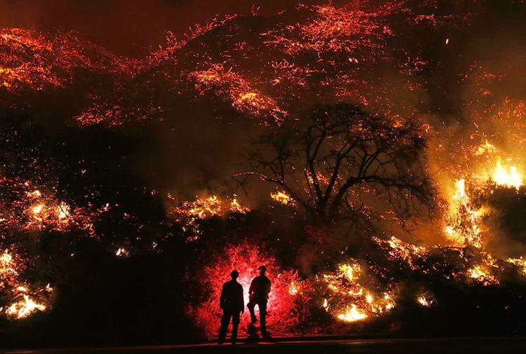 california - Yunanistan'daki Yangın Lazer Silahı İle Mi Çıkartıldı?