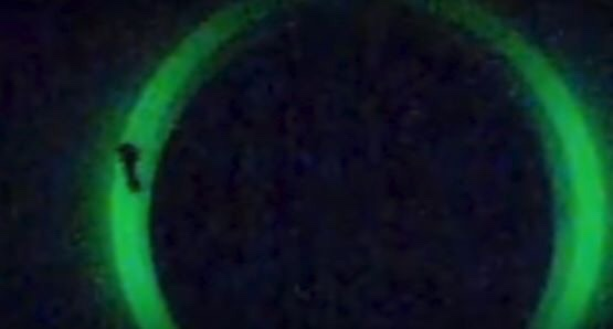 img 1189 - Fransa Sahilinde Gökyüzünde Açılan Yeşil Portal Fenomeni
